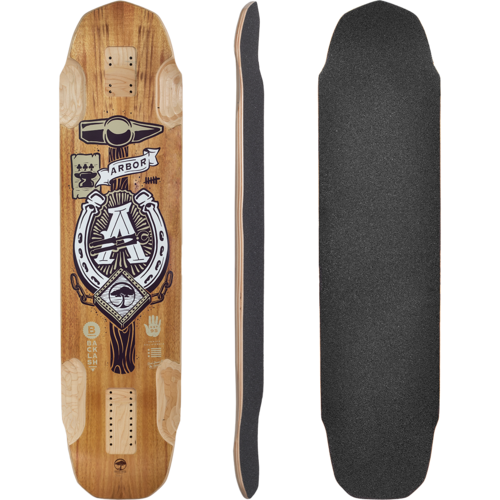 Arbor Backlash 40 Longboard Skateboard Custom Complete