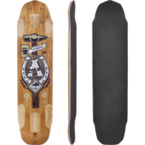 Arbor Backlash 40 Longboard Skateboard Deck w/ Grip