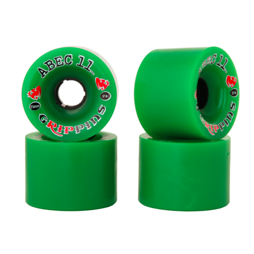 70mm ABEC 11 Grippins Longboard Skateboard Wheels