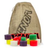 Venom Bushing 10 Bag (DH Barrel) Longboard Skateboard