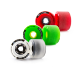 64mm Bustin FIVE-O Classic Longboard Skateboard Wheels