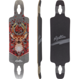 Restless Splinter 38 Bust Longboard Skateboard Deck w/ Grip