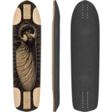 Pantheon 2015 Embryo Longboard Skateboard Custom Complete