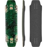 DB Longboards Lunch Tray 36 Longboard Skateboard Deck w/ Grip