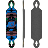 DB Longboards Urban Native 38 Longboard Skateboard Deck w/ Grip