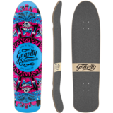 Gravity Pool Model 35 Longboard Skateboard Deck w/ Grip