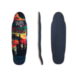 Landyachtz The Ripple Ridge Cruiser Skateboard Deck w/ Grip